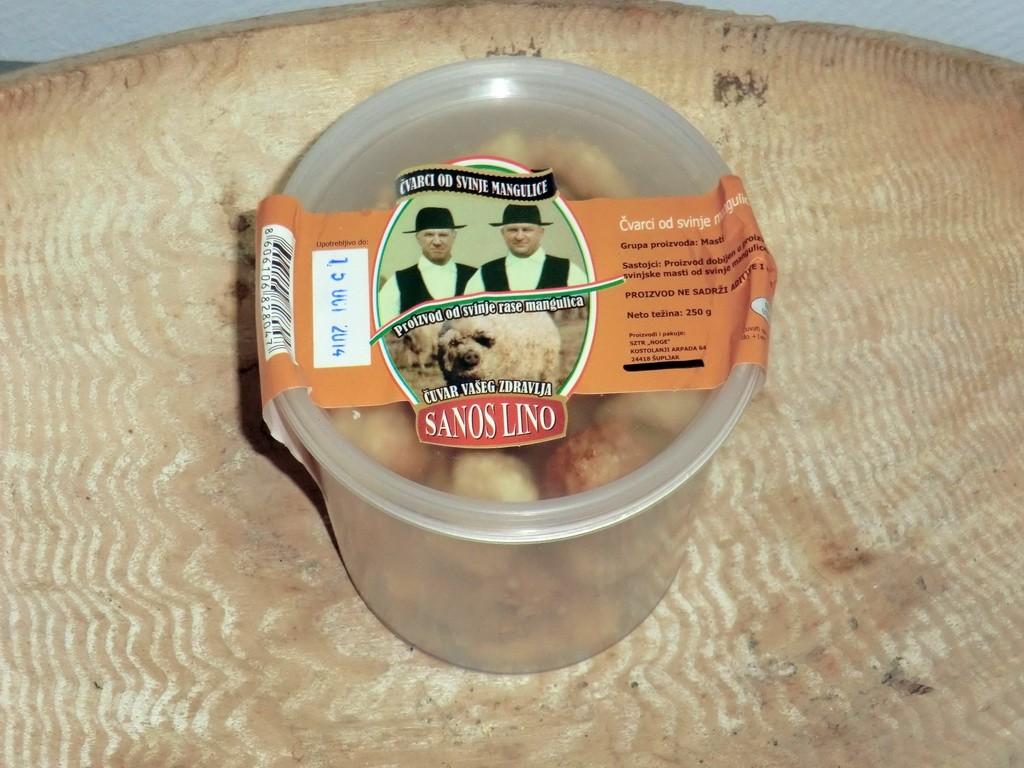 Čvarci od svinje mangulice 250gr