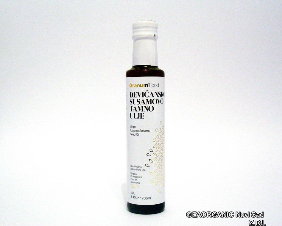 Devičansko susamovo tamno ulje 250ml