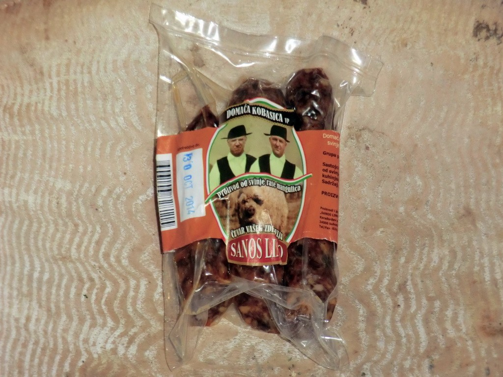 Domaća kobasica od svinje mangulice 1kg