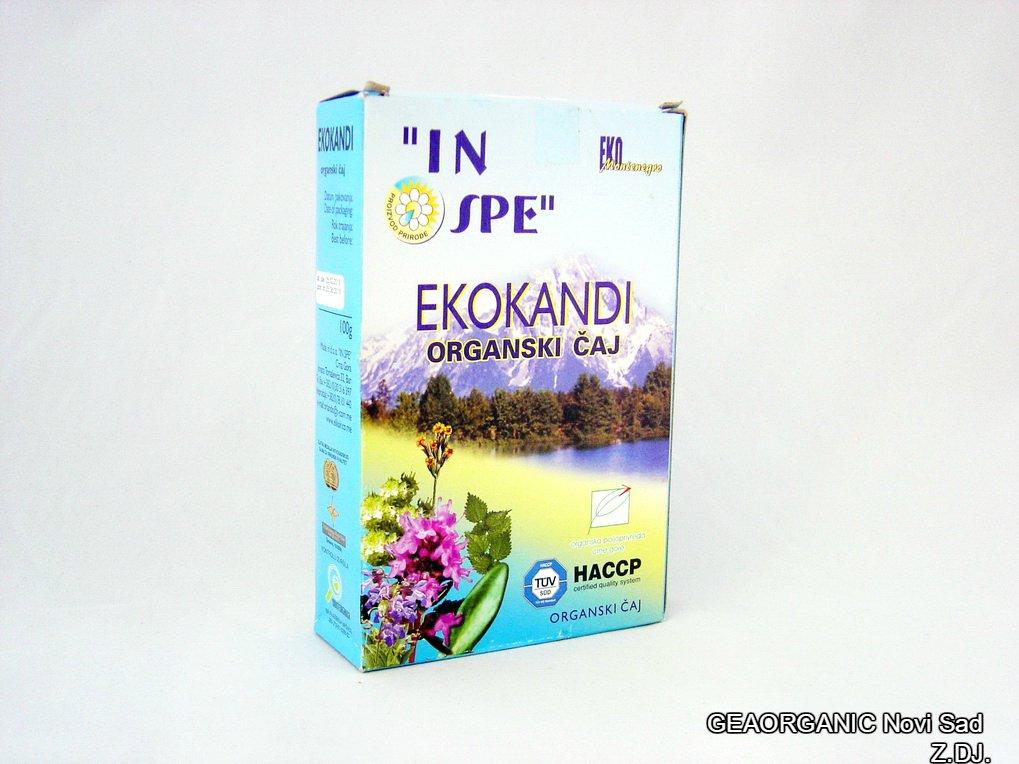 EKOKANDI organski čaj 100gr