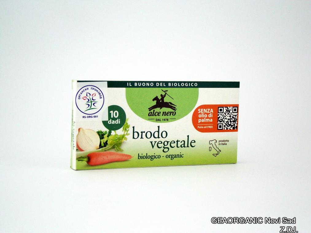 Kocka za supu sa povrćem organic 100gr