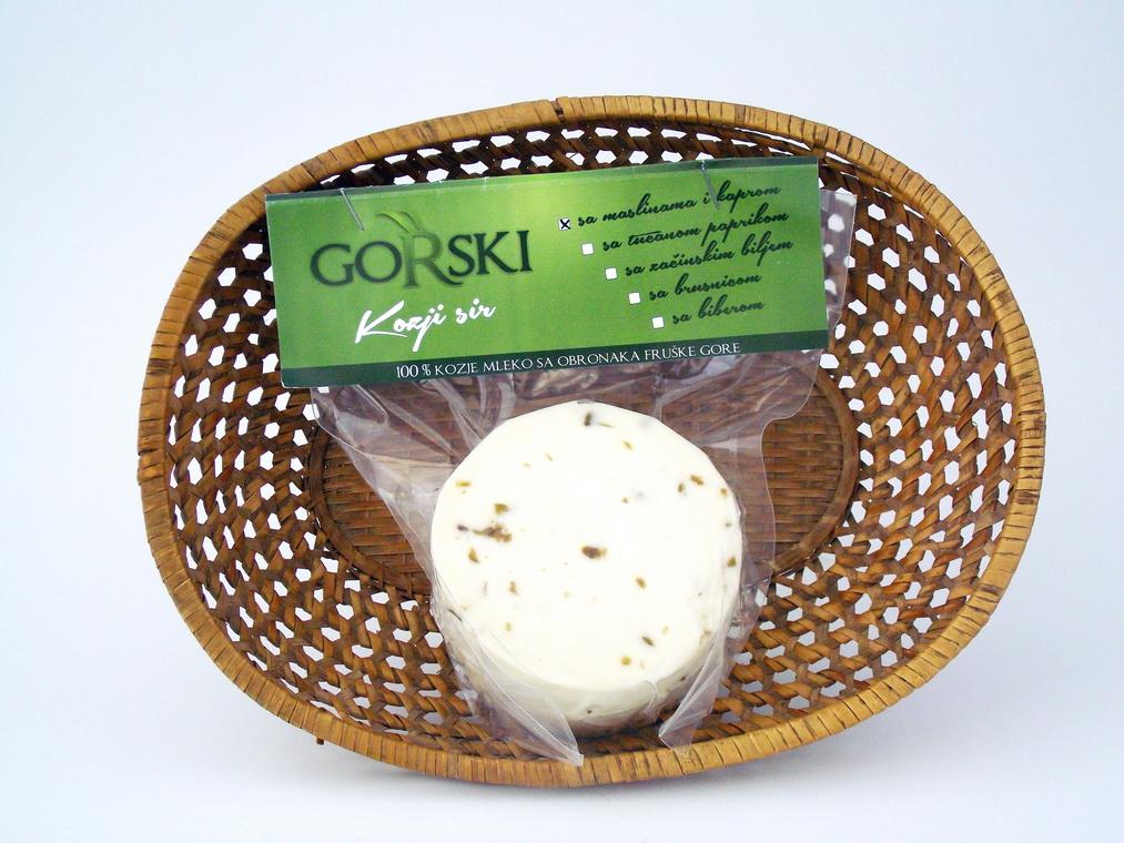 Kozji sir (polutvrdi sa mesavinom začina) 1kg