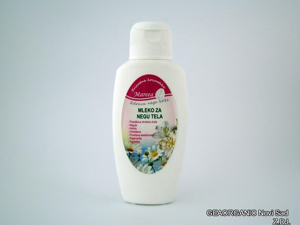 Mleko za negu tela Mareea 200ml