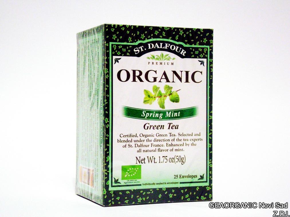 Organski zeleni čaj sa nanom 50gr