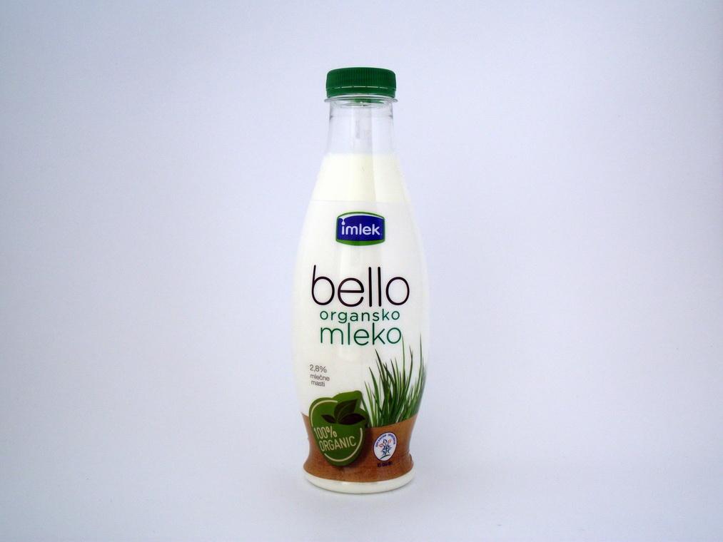 Organsko mleko 0,75l