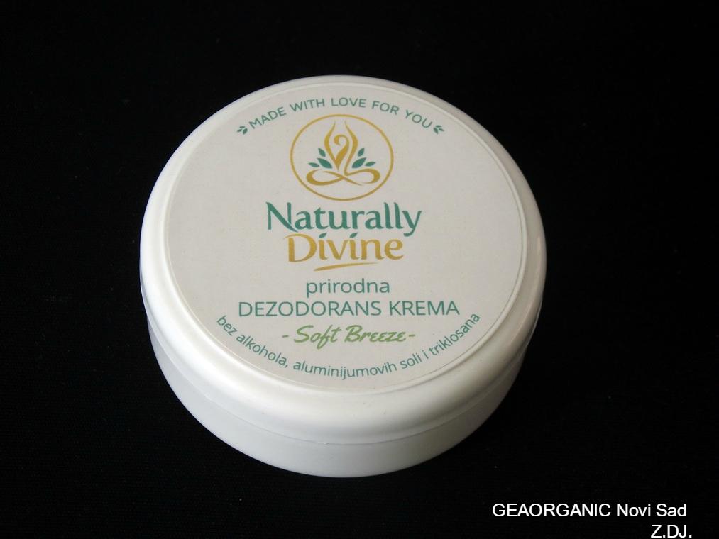 Prirodna dezodorans krema Soft Breeze 40gr