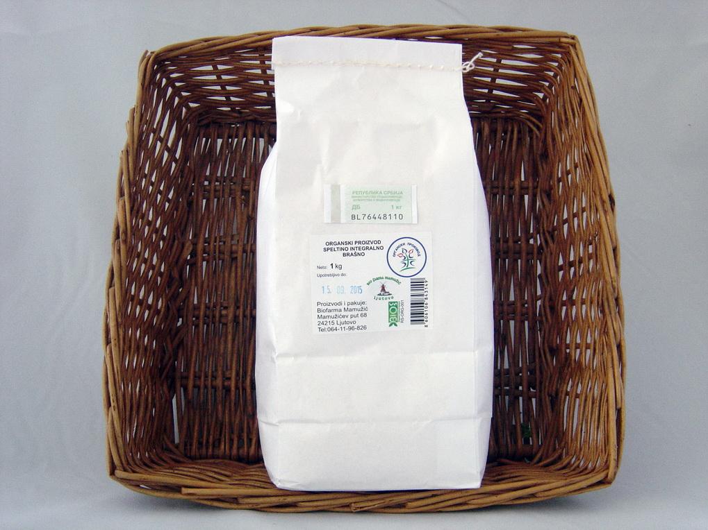 Spelta integralno brašno 1kg