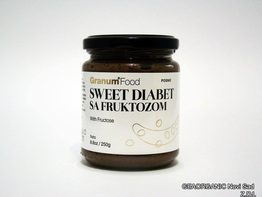 Sweet diabet sa fruktozom 250gr