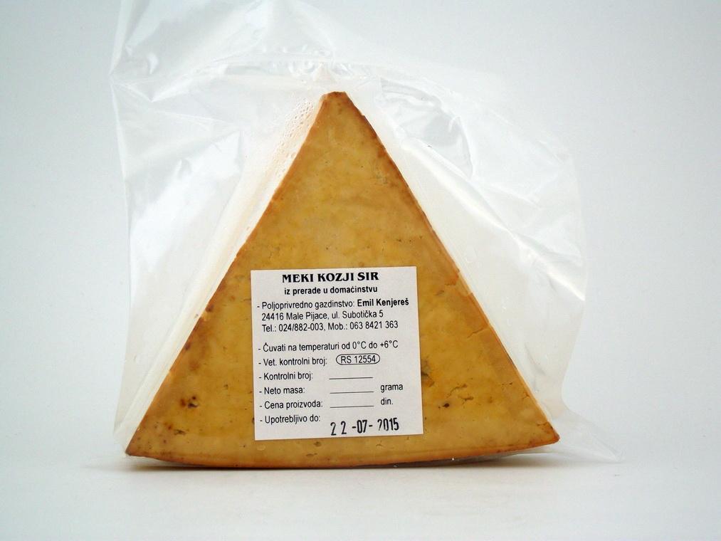 Meki Kozji dimljeni sir 1kg
