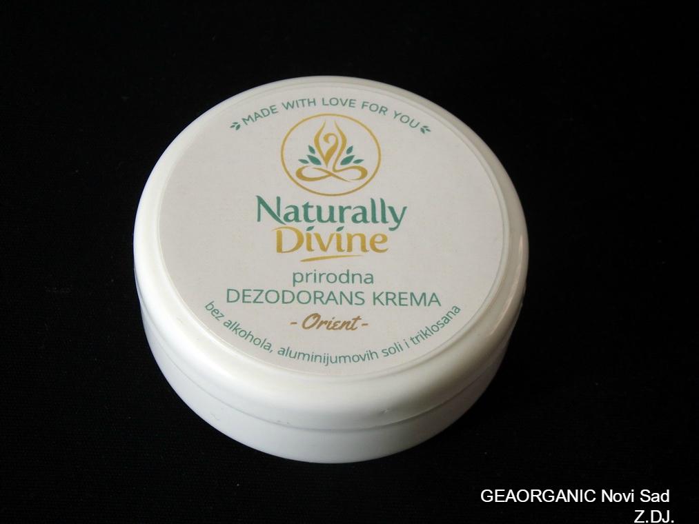 Prirodna dezodorans krema Orient 40gr