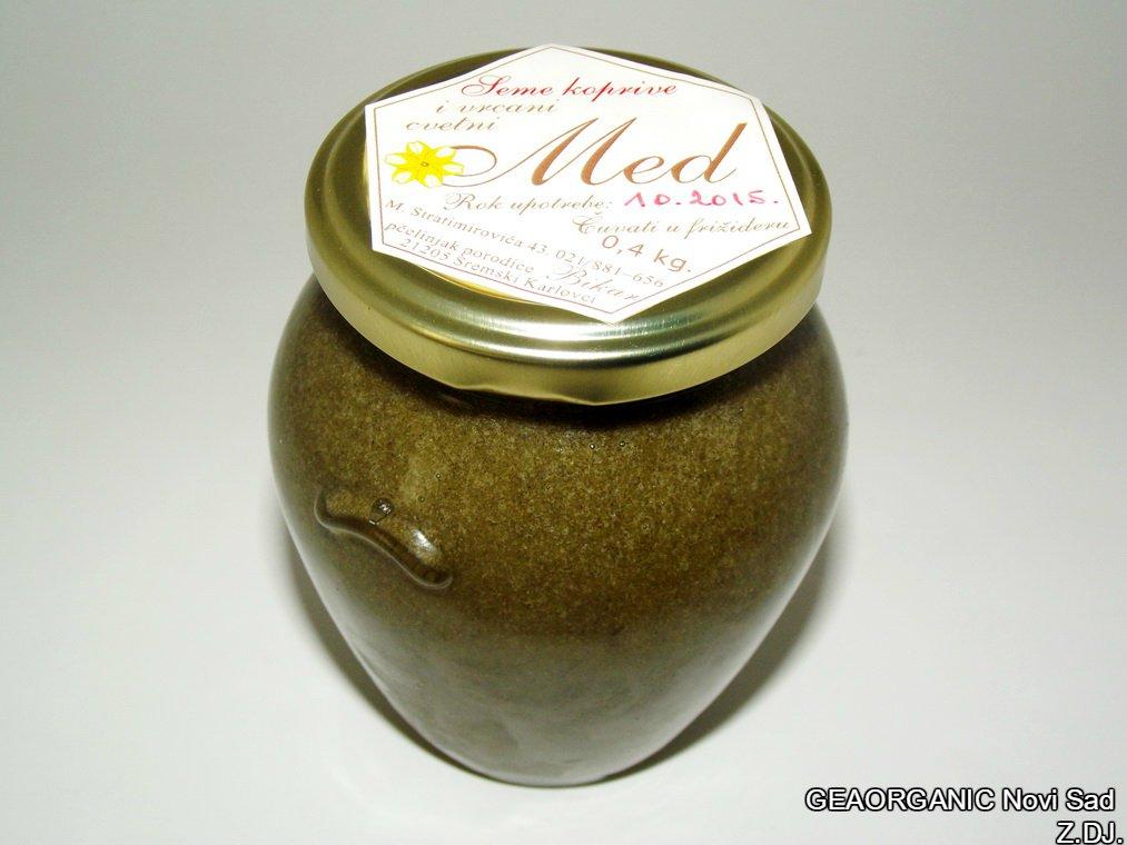 Med sa semenom koprive 0,4kg