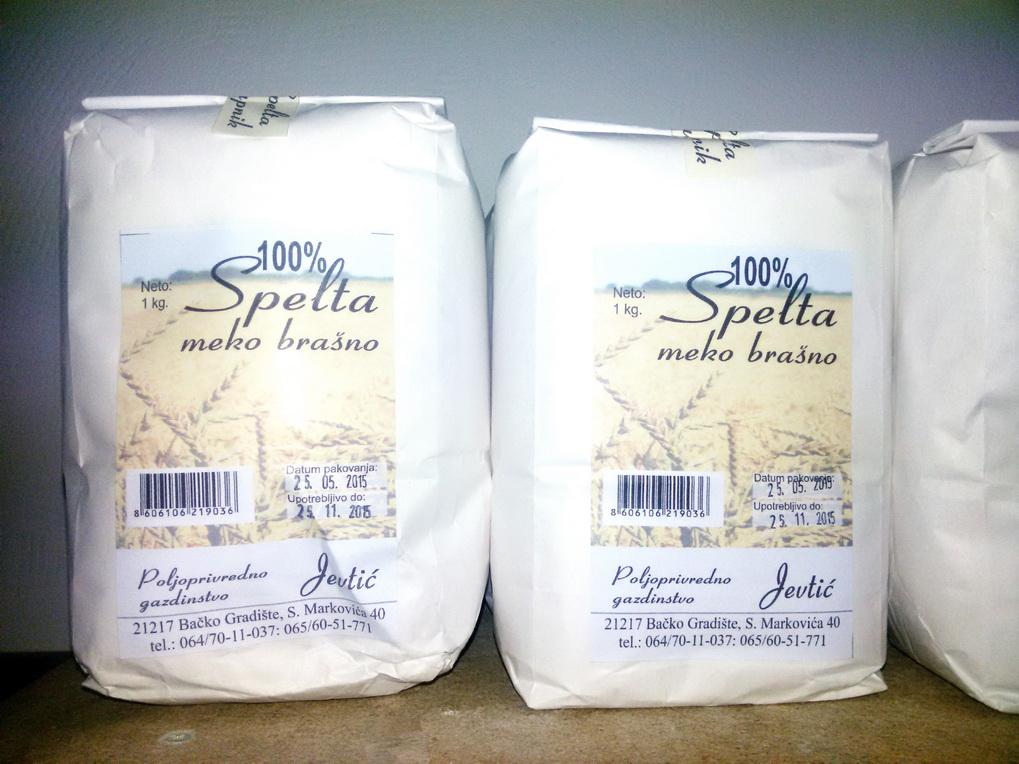 Spelta meko brašno  1kg