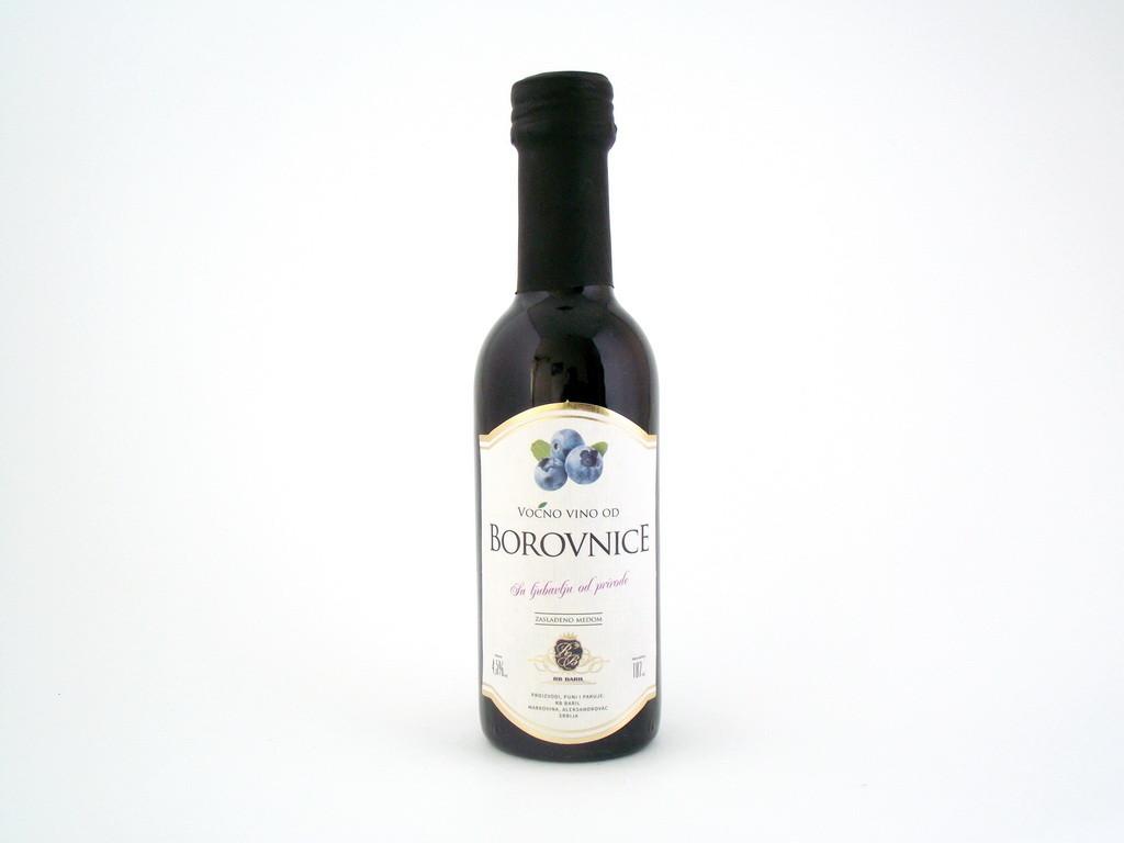 Voćno vino od borovnice 0,187l