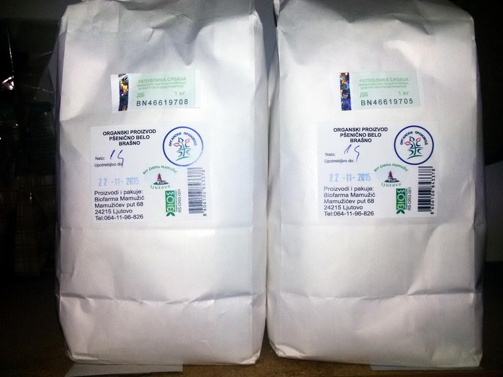 Pšenično belo brašno 1kg