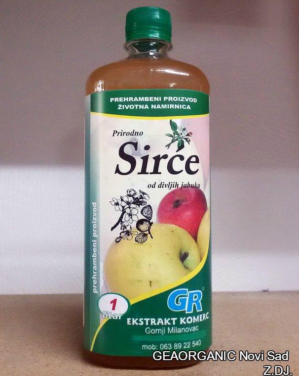 Sirće od divljih jabuka 1l