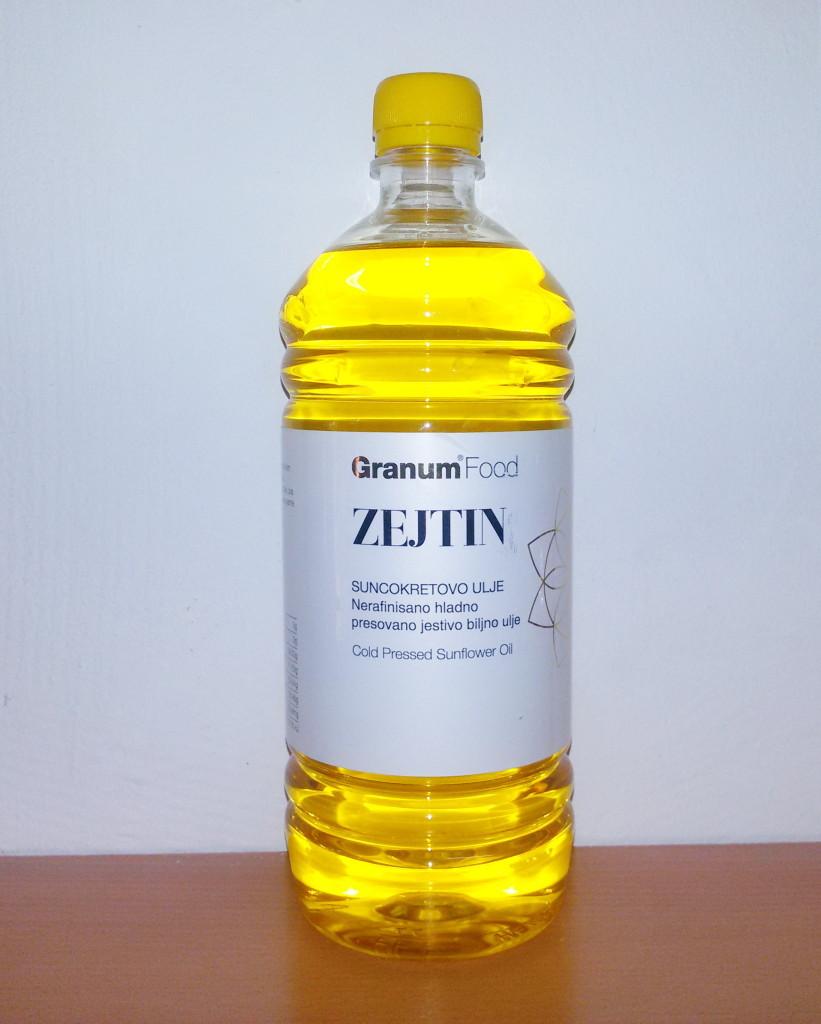 Zejtin suncokretovo ulje 1l