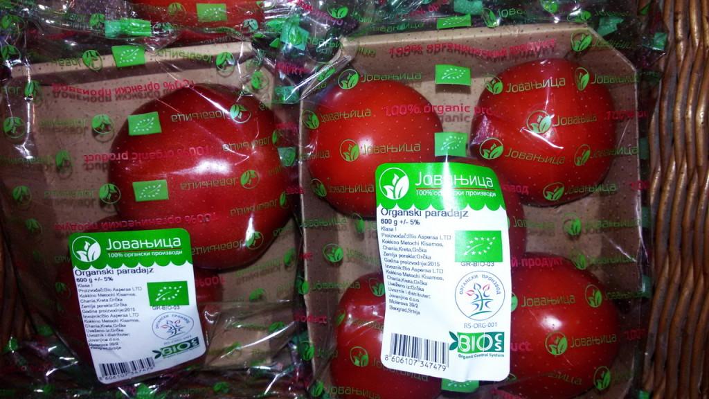 Organski paradajz 600gr