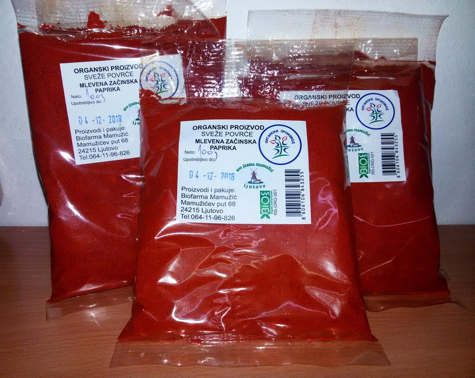 Mlevena začinska paprika 100gr