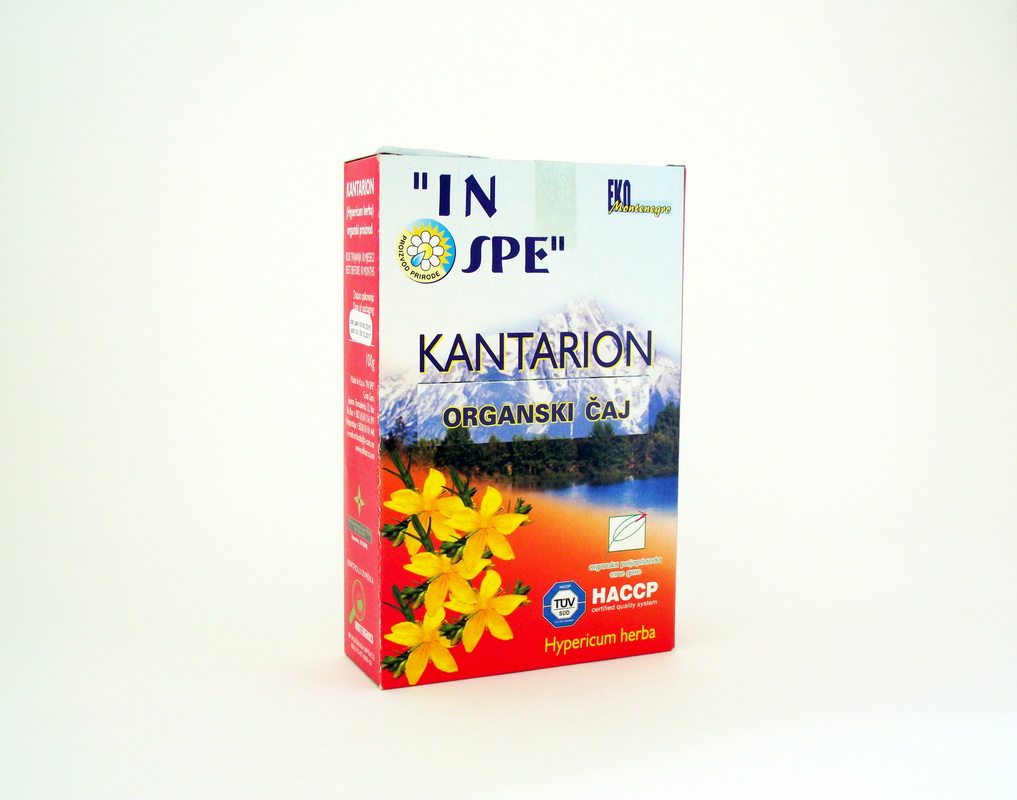 Kantarion organski čaj 100gr