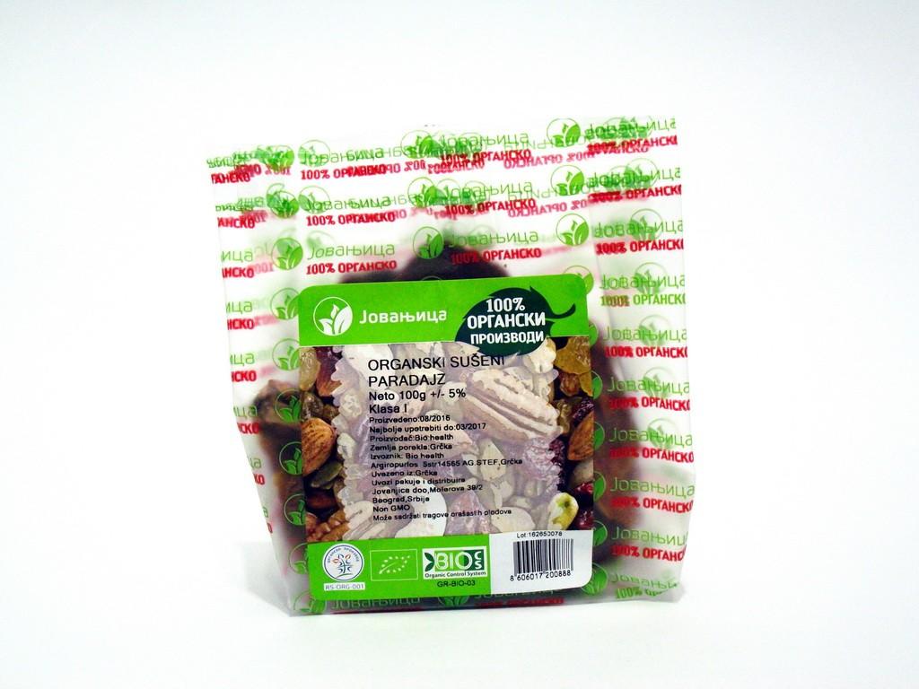 Organski sušeni paradajz 100gr