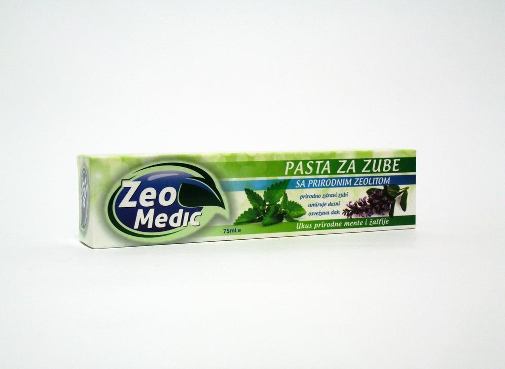 Pasta za zube sa zeolitom 75ml