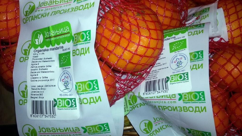 Organska mandarina 0,5kg